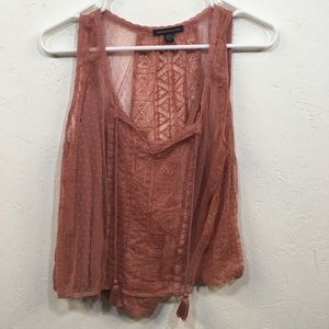 Sheer American Eagle Outfitters Tank